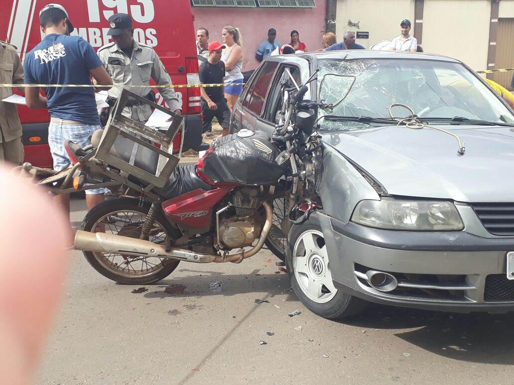 Acidente grave no Goiânia Viva deixa vítima inconsciente | Foto: Leitor/ WhatsApp