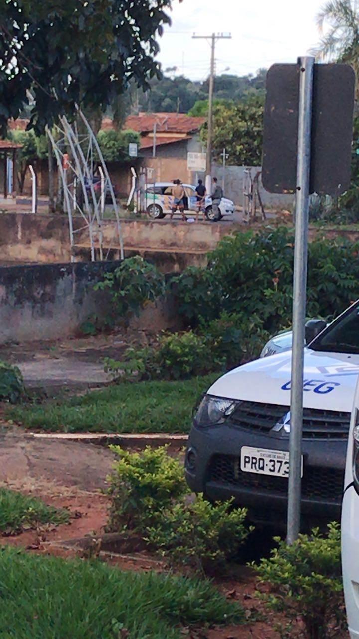 Dois detentos foram recapturados pela Polícia Militar | Foto: leitor Folha Z