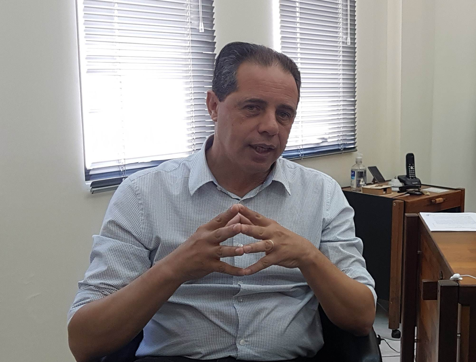 José Carlos Palma falou ao Folha Z sobre disputa da presidência da Fecomércio   Foto: Valdemy Teixeira