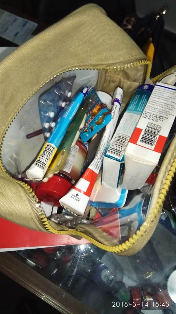 Mulher ingeriu grande quantidade de medicamentos controlados | Foto: Divulgação/ PM