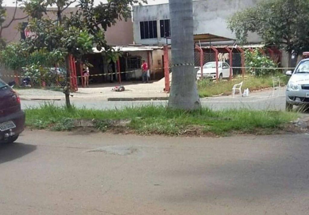 Crime ocorreu em lava -jato próximo ao campus II da UFG, no bairro Vila Itatiaia | Foto: Divulgação
