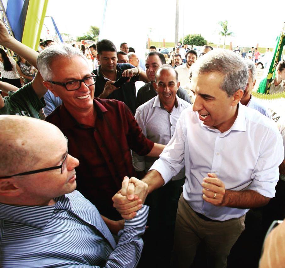 Demóstenes Torres tem ligação histórica com o governador José Eliton | Foto: Reprodução