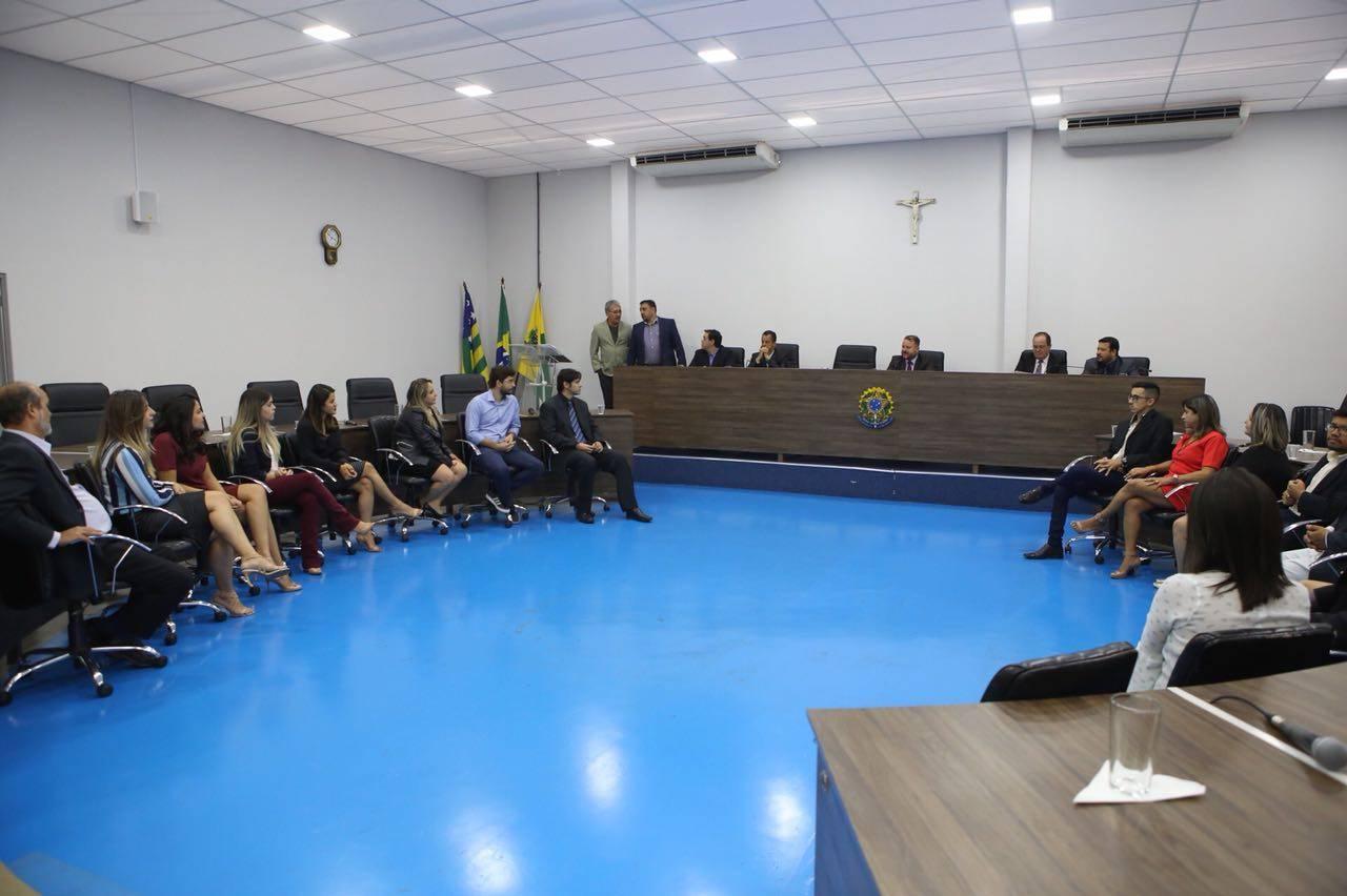 Dois terços de jornalistas homenageados pela Câmara de Aparecida são funcionários da prefeitura   Foto: Marcelo Silva