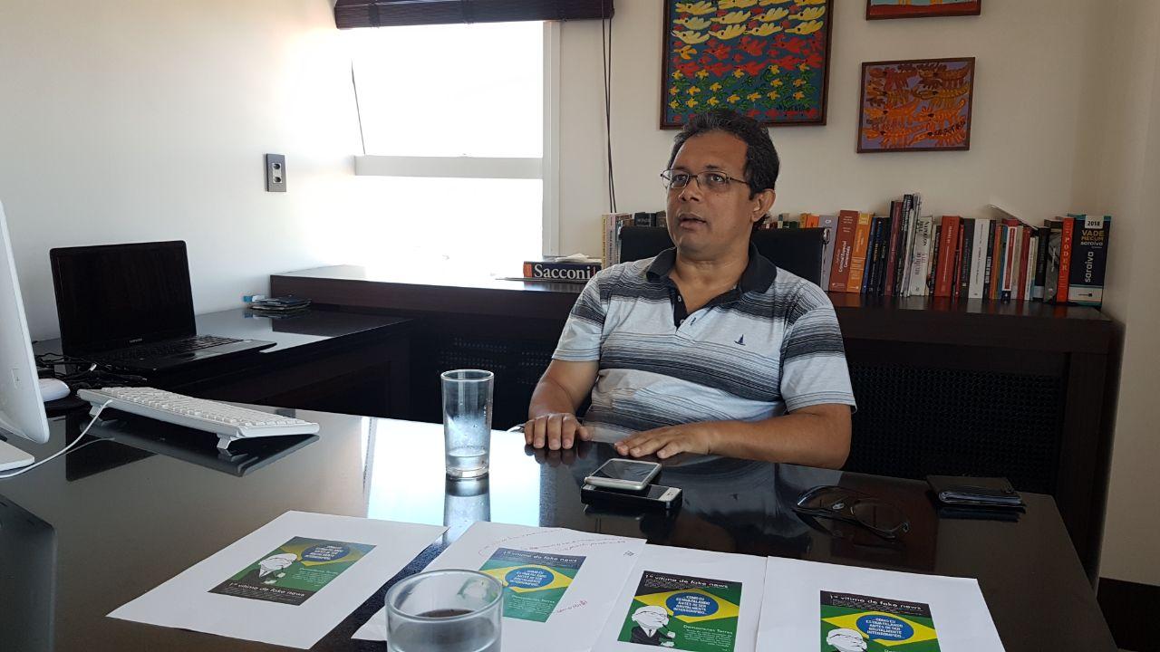 Nilson Gomes, chefe de equipe de Demóstenes Torres | Foto: Marco Faleiro
