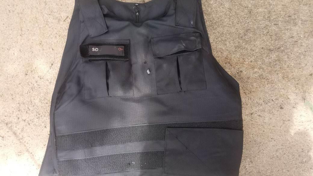 Baleado no peito, PM é salvo pelo colete a prova de balas em Goiânia | Foto: Divulgação/ PM