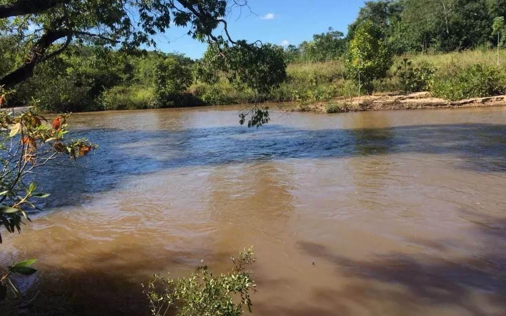 Para ocultar cadáver em rio, dupla enche corpo de pedras em Jataí   Foto: Divulgação/ Polícia Civil