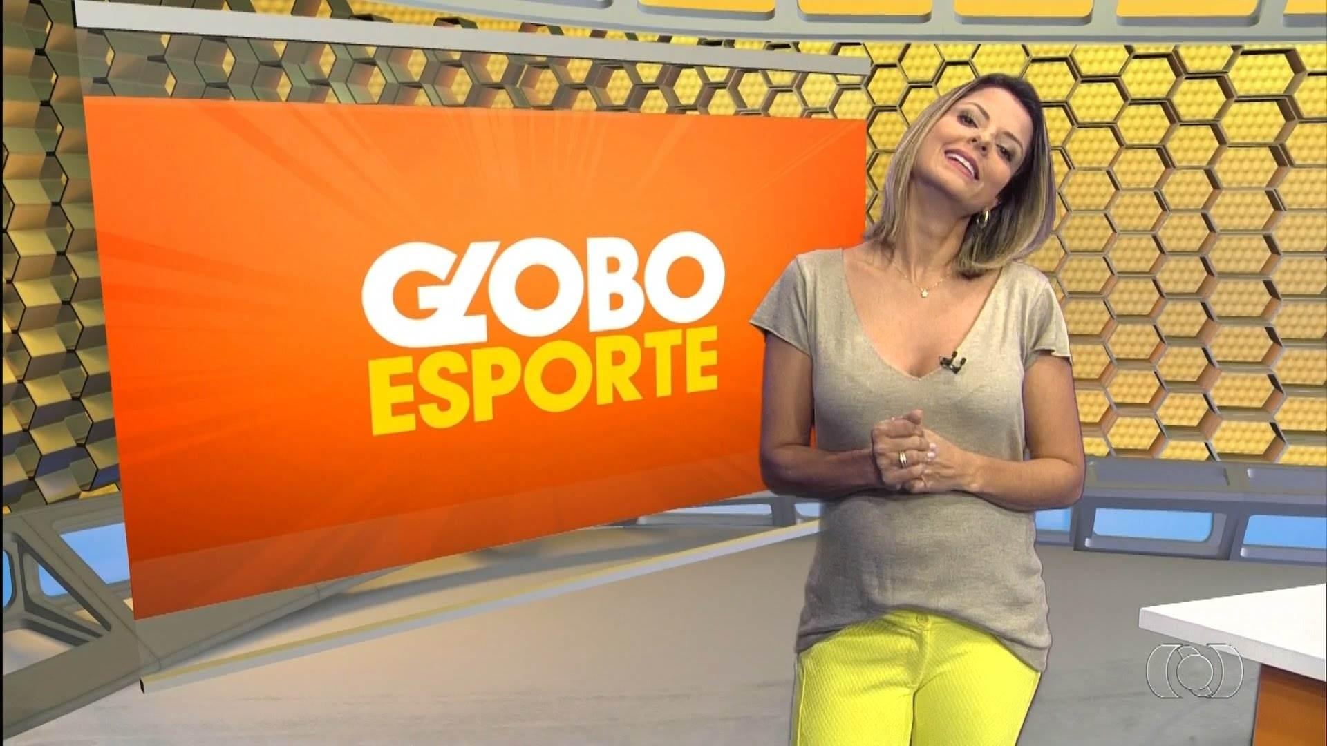 Contratada pelo Goiás, Thaís Freitas está de saída da TV Anhanguera | Foto: Reprodução/ TV Anhanguera