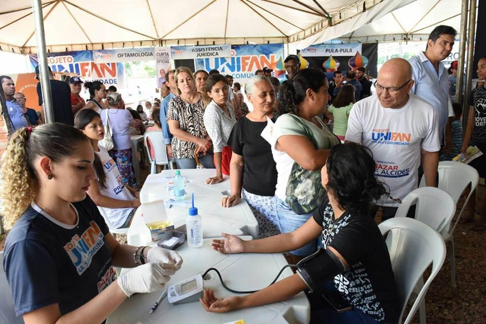 Vila Redenção recebe serviços no evento Unifan na sua Comunidade | Foto: Divulgação/ Unifan