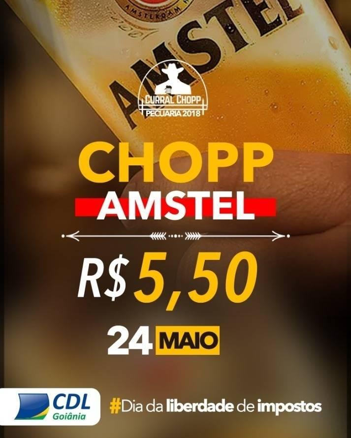 De R$ 8, cerveja cai para R$ 5,50 em ação do DLI na Pecuária 2018 | Foto: Divulgação/CDL