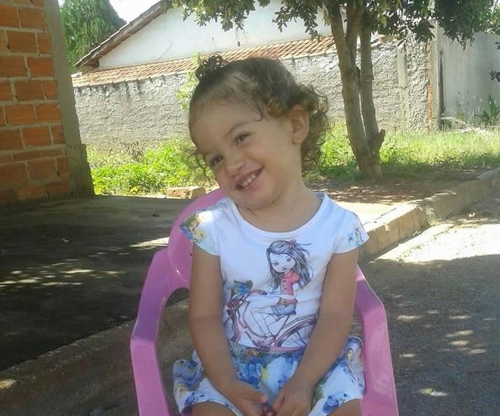 Ana Julya tinha apenas 2 anos e 6 meses e morava com a mãe em Minaçu | Foto: Arquivo Pessoal