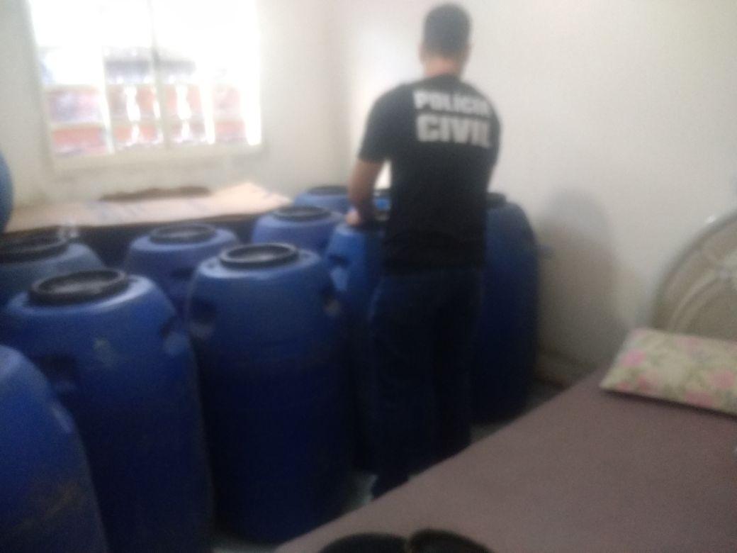 PC suspeita de irregularidades e adulteração em distribuidora de Goiânia | Foto: Divulgação/PC