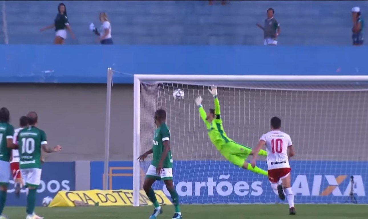 Derrota do Goiás para o Vila Nova pelo placar de 3 a 1 na Série B 2018 faz parte de uma sequência de resultados negativos | Foto: Reprodução