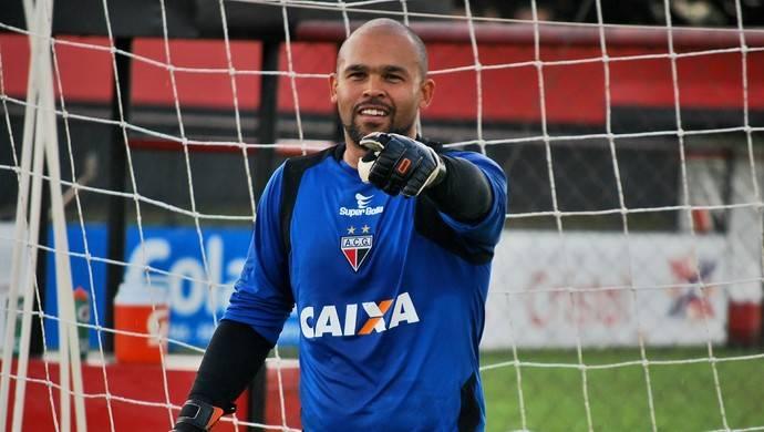 Goleiro Márcio é anunciado pelo Goiânia para 2018   Foto: Guilherme Salgado/Atlético-GO