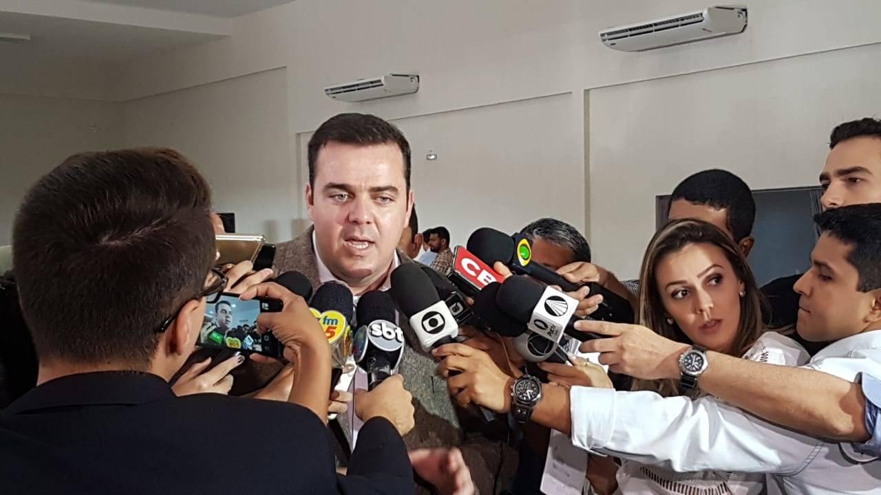 Prefeito Gustavo Mendanha (MDB) deve mudar secretarias de Aparecida em breve | Foto: Folha Z