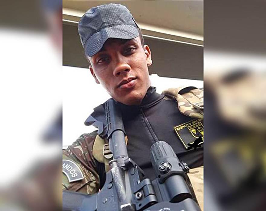 Victor Ferreira Campos morreu após disparo acidental em treino de tiro do Exército   Foto: Reprodução