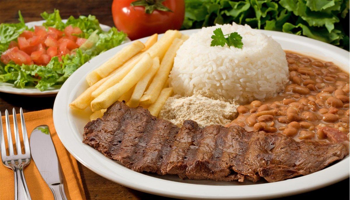 Centro de Goiânia oferta várias opções de refeições saborosas e baratas | Foto: Reprodução