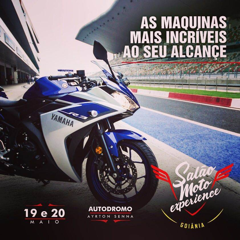 O evento de motociclismo em Goiânia está na sua segunda edição | Foto: Divulgação