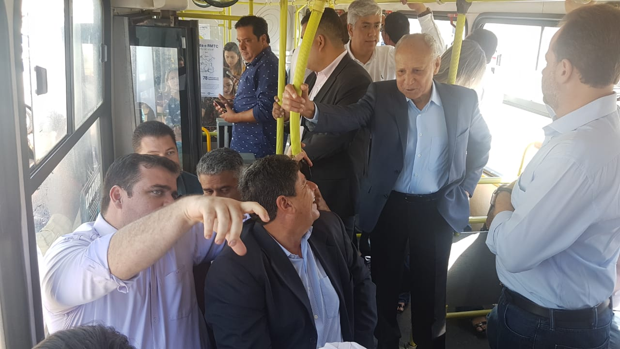 Gustavo Mendanha deixará o comando daCâmara Deliberativa do Transporte Coletivo (CDTC) em junho | Foto: Divulgação
