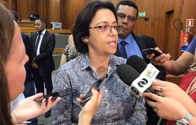 Titular da Secretaria de Saúde, Fátima Mrué anuncia vagas em Goiânia para médicos   Foto: Divulgação