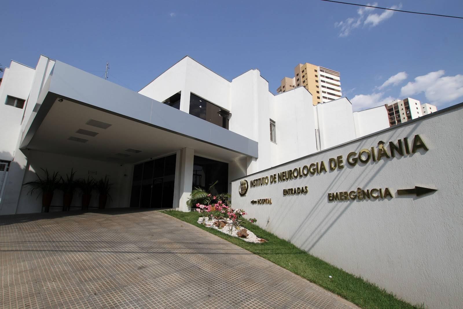 Instituto de Neurologia de Goiânia   Foto: Divulgação