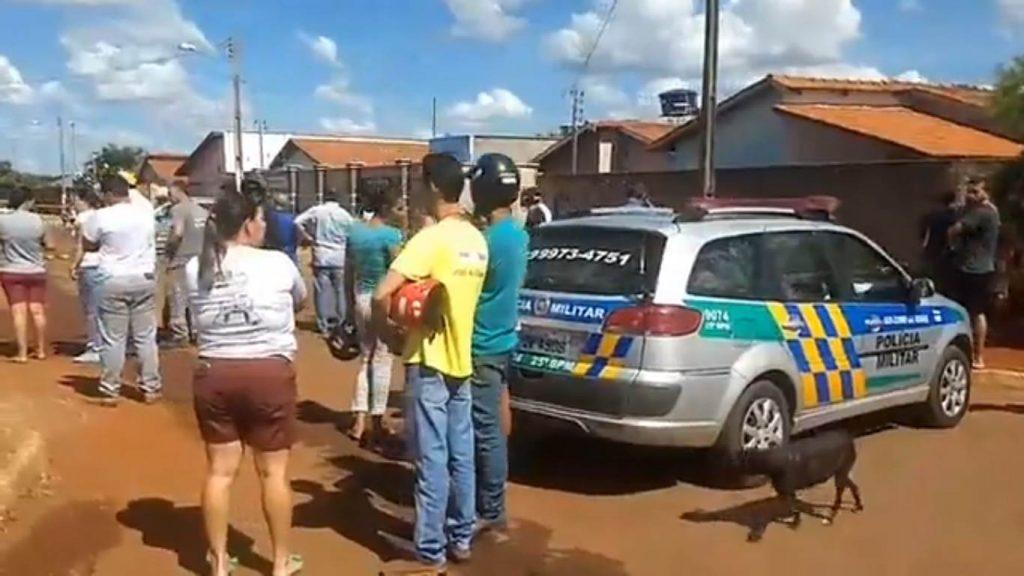 O tiroteiro em Palmeiras de Goiás vitimou quatro pessoas, ao menos um deles suspeito de praticar tráfico de drogas   Foto: Reprodução/ Facebook