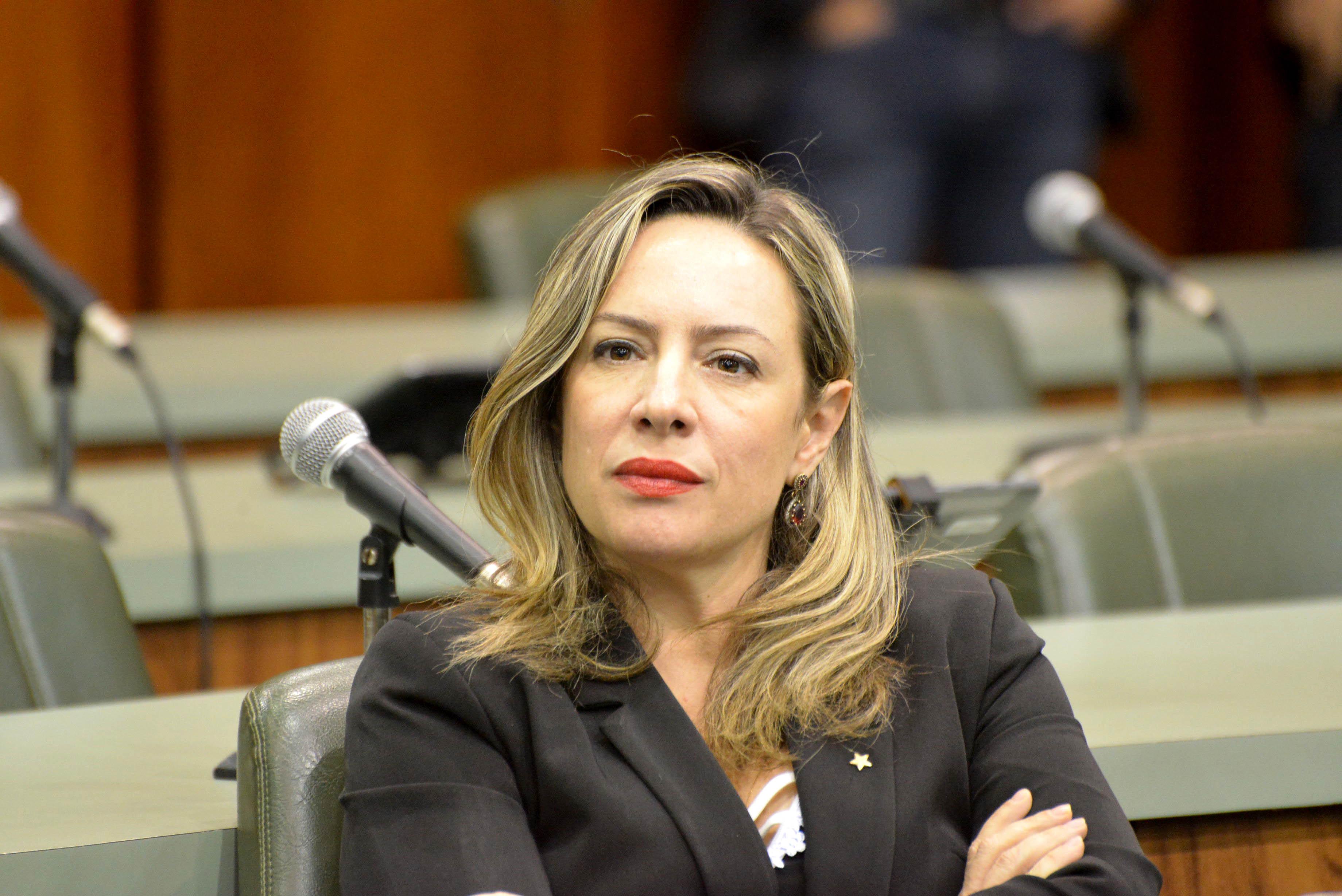 Delegada Adriana Accorsi (PT)   Foto: Y. Maeda