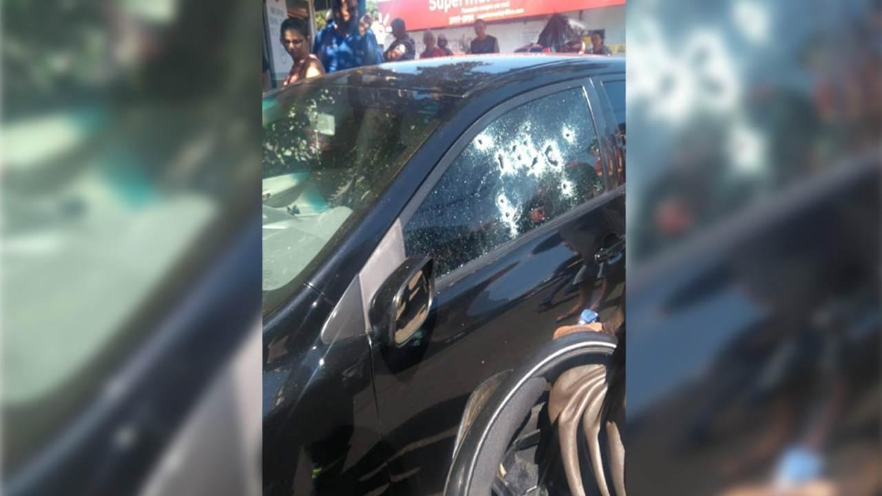 Homem é morto ao sair de petshop no Setor Cândida de Morais e testemunhas falam em mais de 10 disparos | Foto: Leitor / Whatsapp