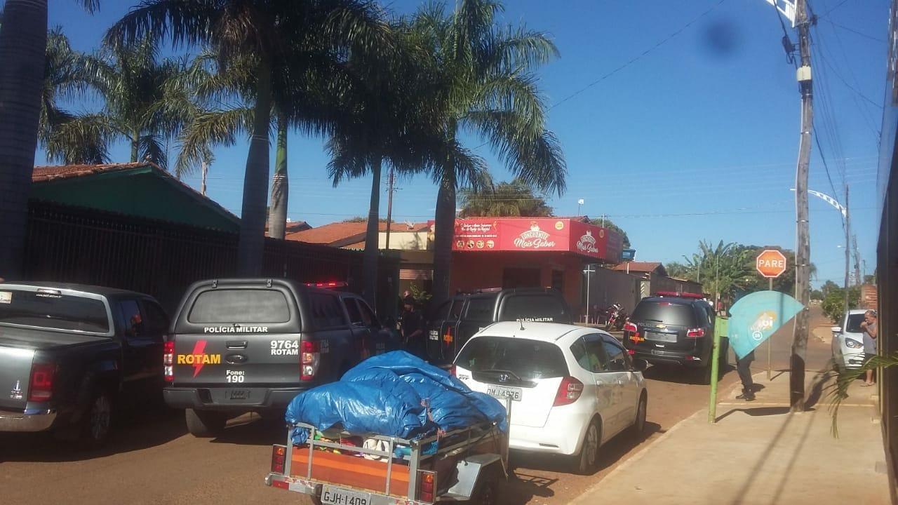 Três morrem em confronto com a Rotam em Teresópolis de Goiás | Foto: Leitor / Whatsapp