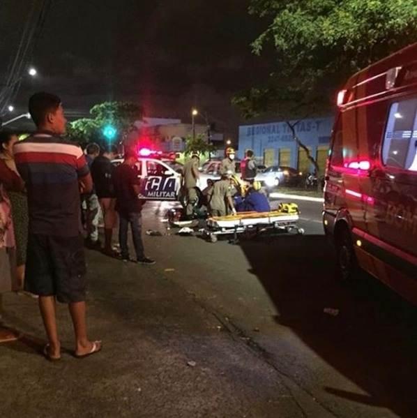 Quando a equipe do Corpo de Bombeiros chegou, o homem já estava morto   Foto: Yuri Estevão