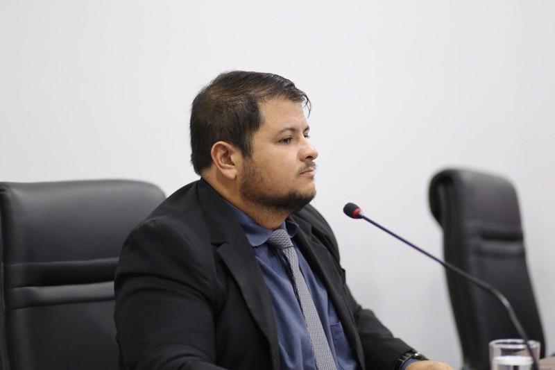 Vereador Willian Panda | Foto: Divulgação/Câmara de Aparecida