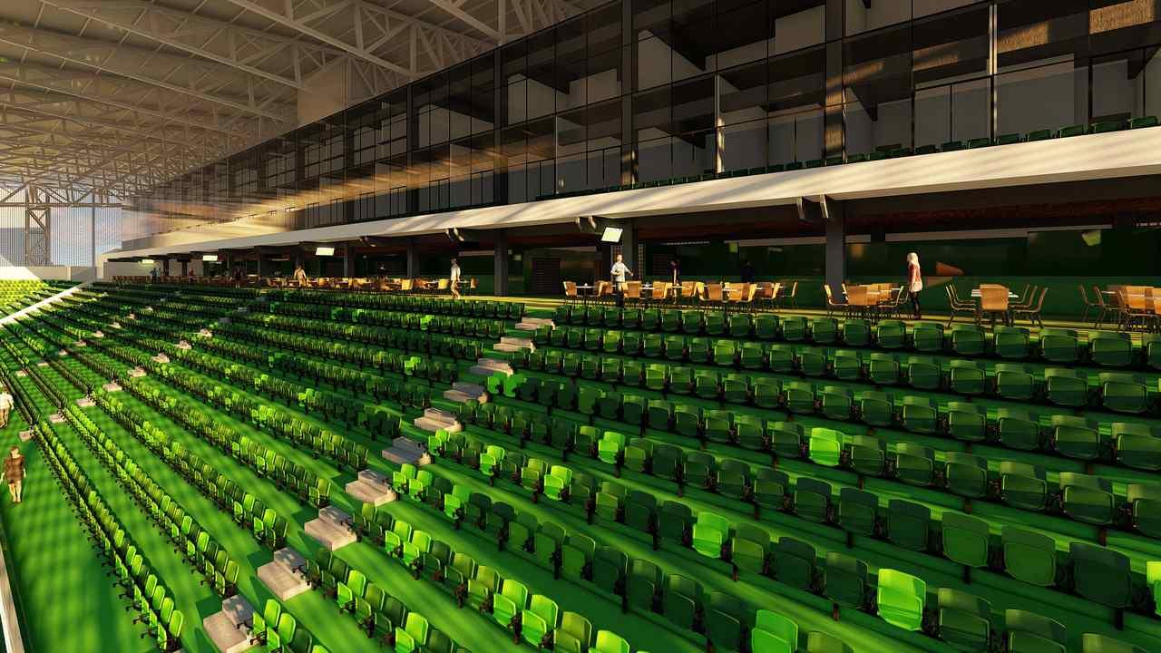 Estádio com capacidade para 20 mil torcedores