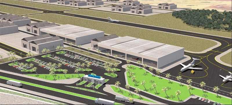 Antares Aeródromo Executivo | Foto: Reprodução