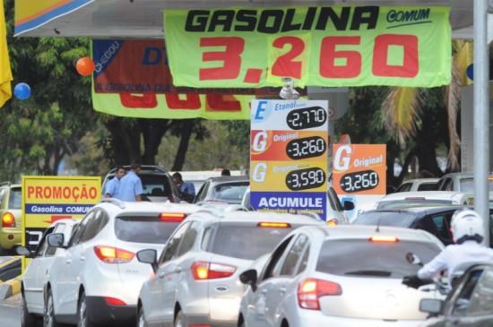 Goiânia terá gasolina 42% mais barata no Dia Livre de Impostos   Foto: Ilustrativa/Carlos Moura/CB/D.A Press