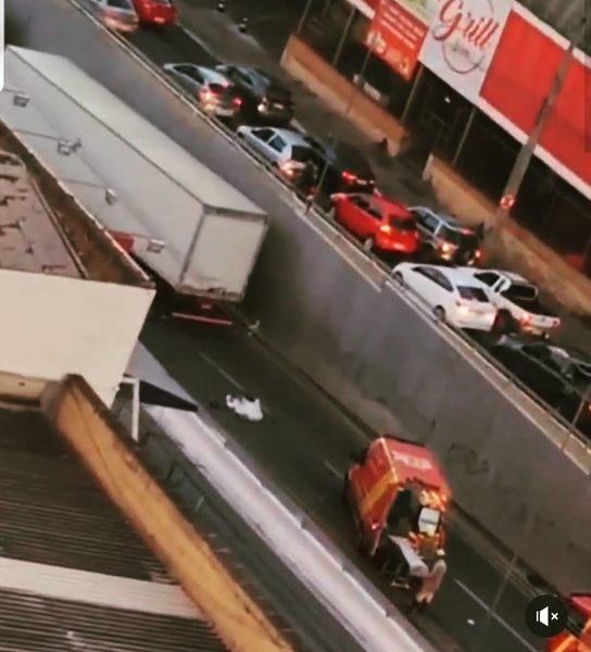 Colisão frontal deixa 1 motociclista morto na manhã desta segunda, 24 | Foto: Leitor / Folha Z