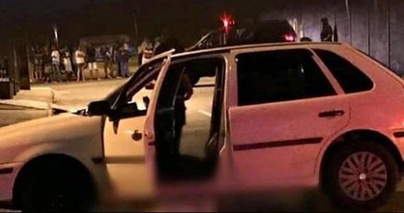Confronto com a polícia no Independência Mansões