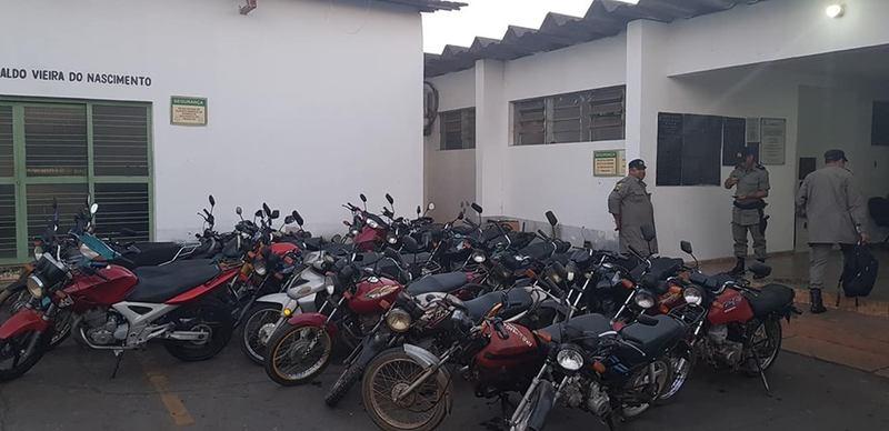 Deflagrada na última 4ª, 17, a ação visa tirar de circulação motos irregulares | Foto: Divulgação / PM