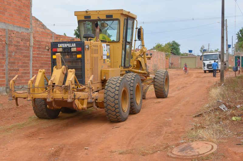 1ª etapa de obras de asfalto do Retiro do Bosque e Miramar foi anunciada ainda em outubro do ano passado | Foto: Rodrigo Estrela