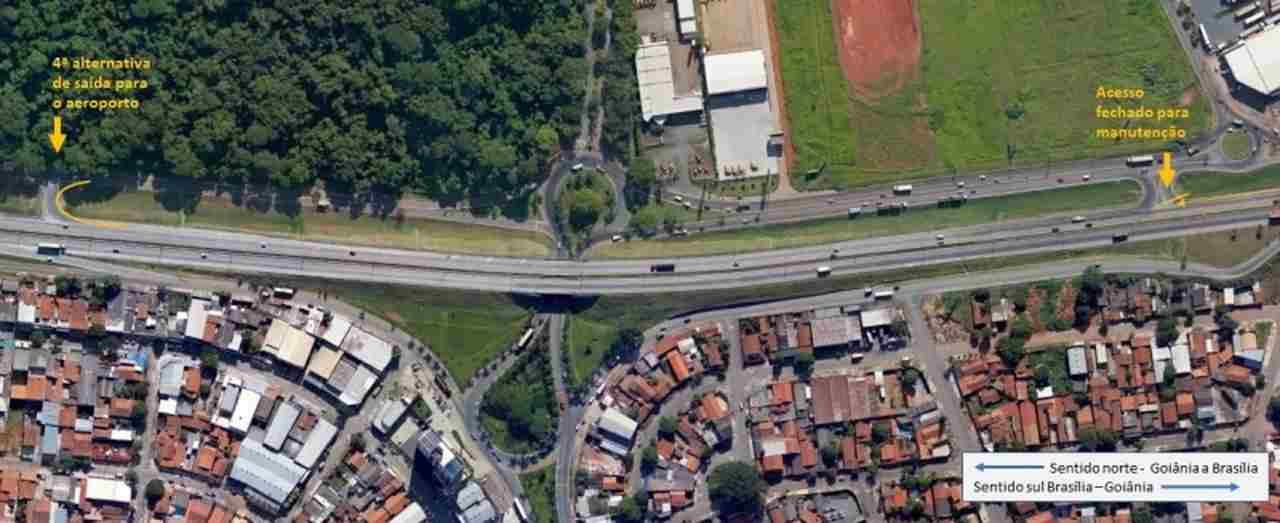 Interdição na BR-153 em Goiânia