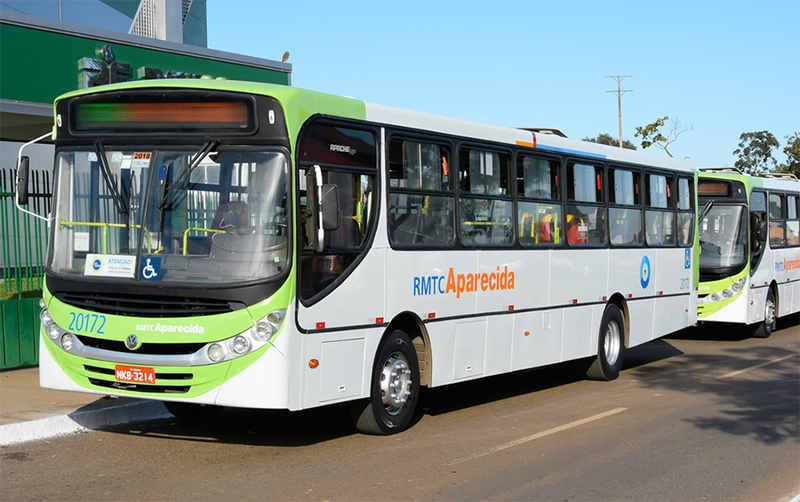 Linhas de ônibus em Aparecida de Goiânia | Foto: Rodrigo Estrela