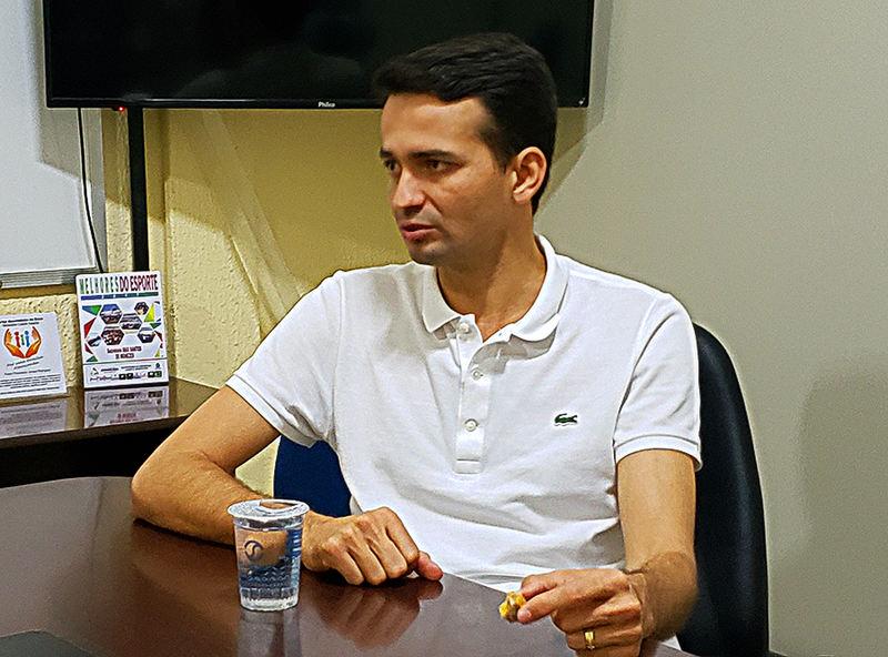Secretário de Desenvolvimento Urbano Max Menezes
