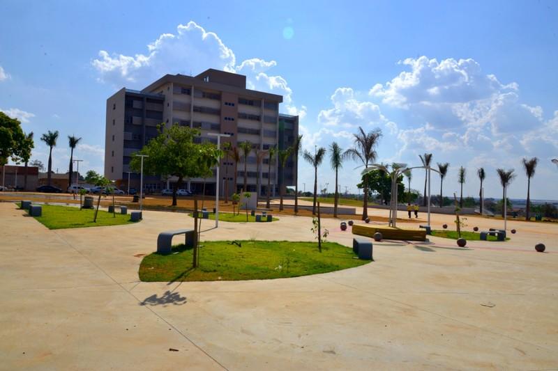 Novo Paço Municipal de Aparecida de Goiânia tem inauguração oficial prevista para o dia 7 de outubro   Foto: Claudivino Antunes