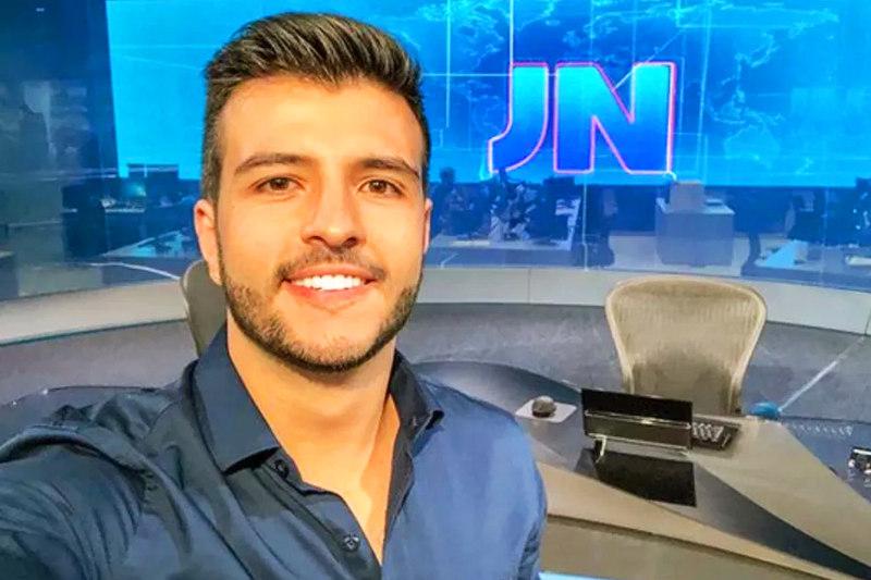 Matheus Ribeiro será o 1º jornalista abertamente gay a ancorar o Jornal Nacional | Foto: Reprodução