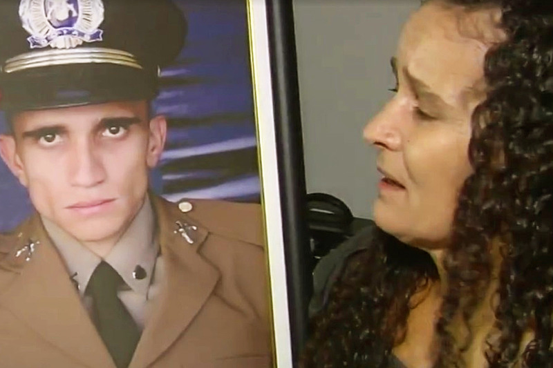Mãe de Walisson, Anésia Francisca, pede esclarecimentos sobre a morte do filho