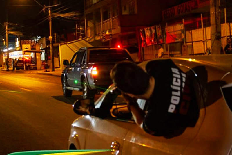 PC realizou reconstituição da morte de Walisson   Foto: Divulgação / Polícia Científica de Goiás