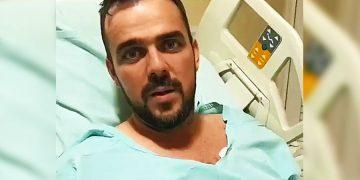 Tomografia identificou trombose venosa cerebral no prefeito Gustavo Mendanha | Foto: Reprodução / Instagram