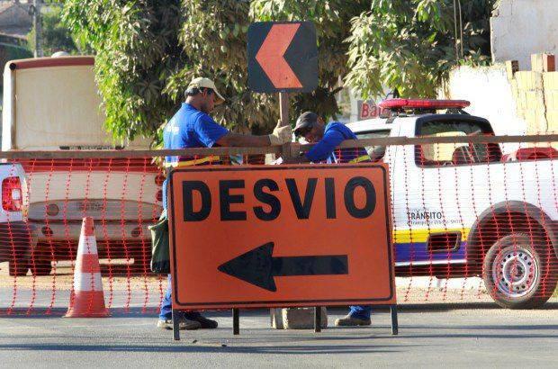 trânsito Carnaval Goiânia