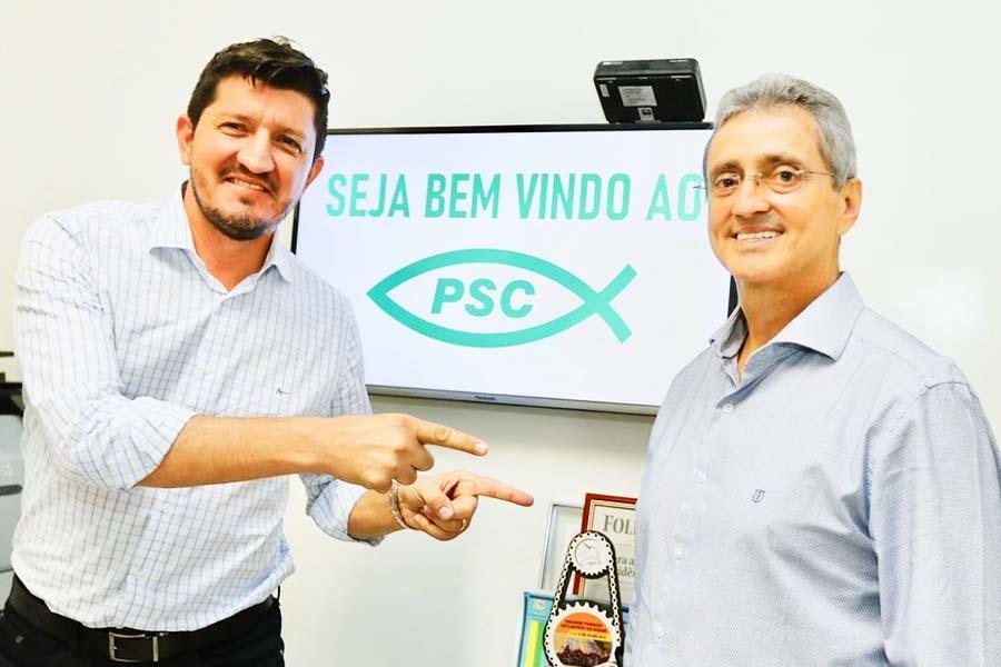 Ozair José é o novo presidente do PSC Aparecida, do deputado federal Glaustin da Fokus | Foto: Divulgação