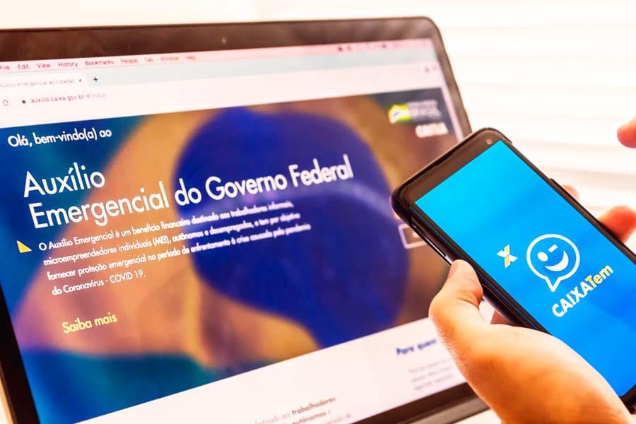 App Caixa Tem permite a movimentação da Poupança Social da Caixa, conta criada especialmente para o recebimento do auxílio | Foto: Divulgação/CEF