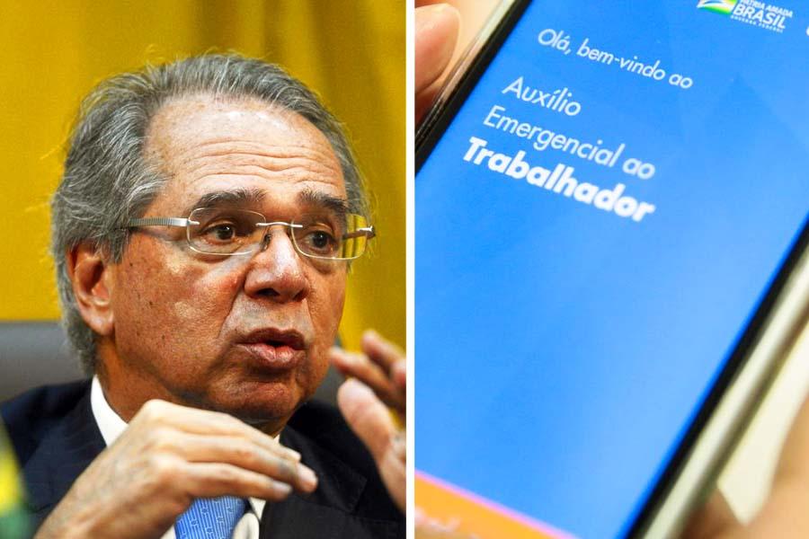Paulo Guedes diz que auxílio emergencial pode ser prorrogado por