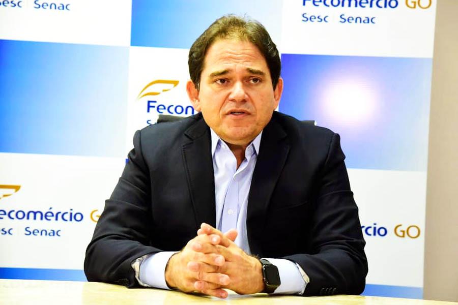 Presidente da Federação do Comércio de Goiás (Fecomércio-GO), Marcelo Baiocchi | Foto: Divulgação